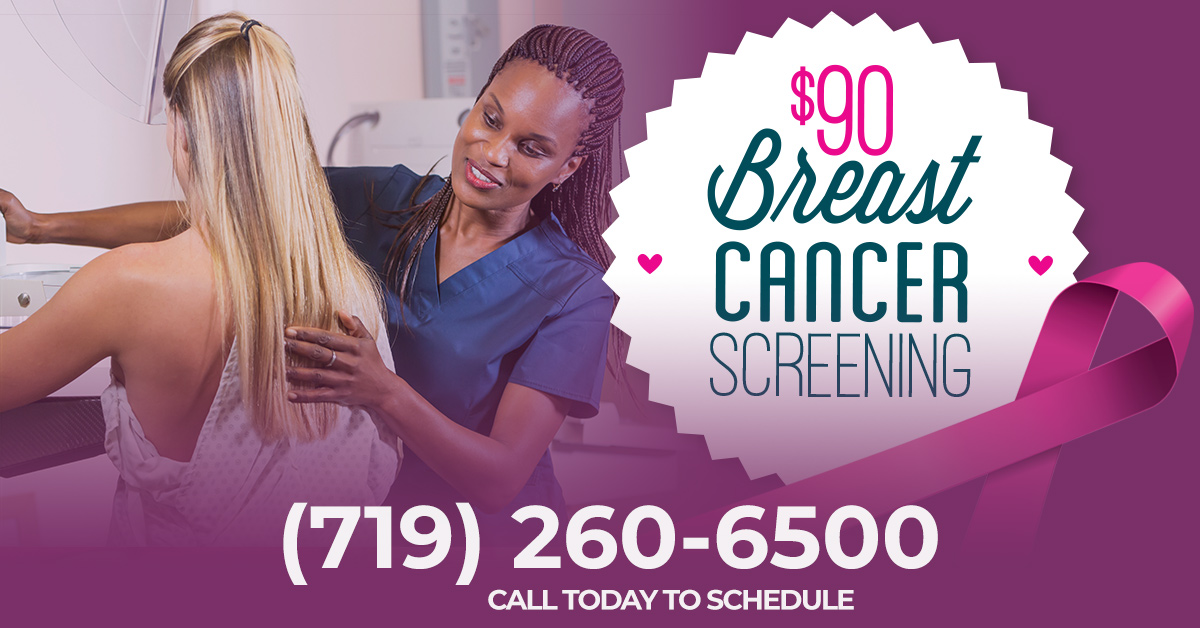 $90 Breast Cancer Screening