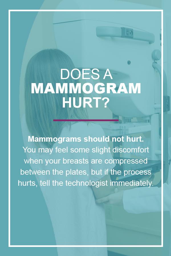 Does a Mammogram Hurt