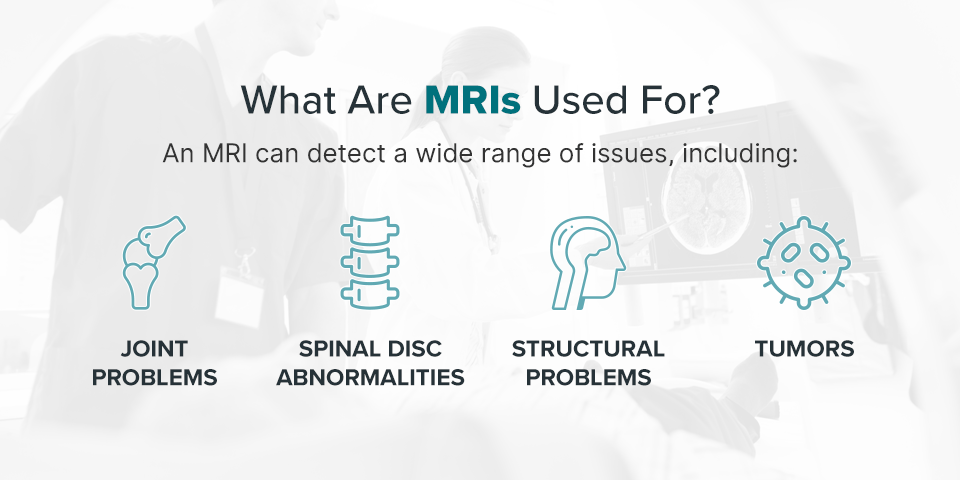 What are MRIs used for