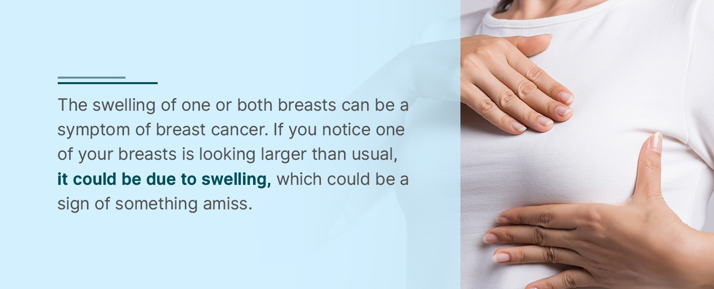 Swelling in Breasts
