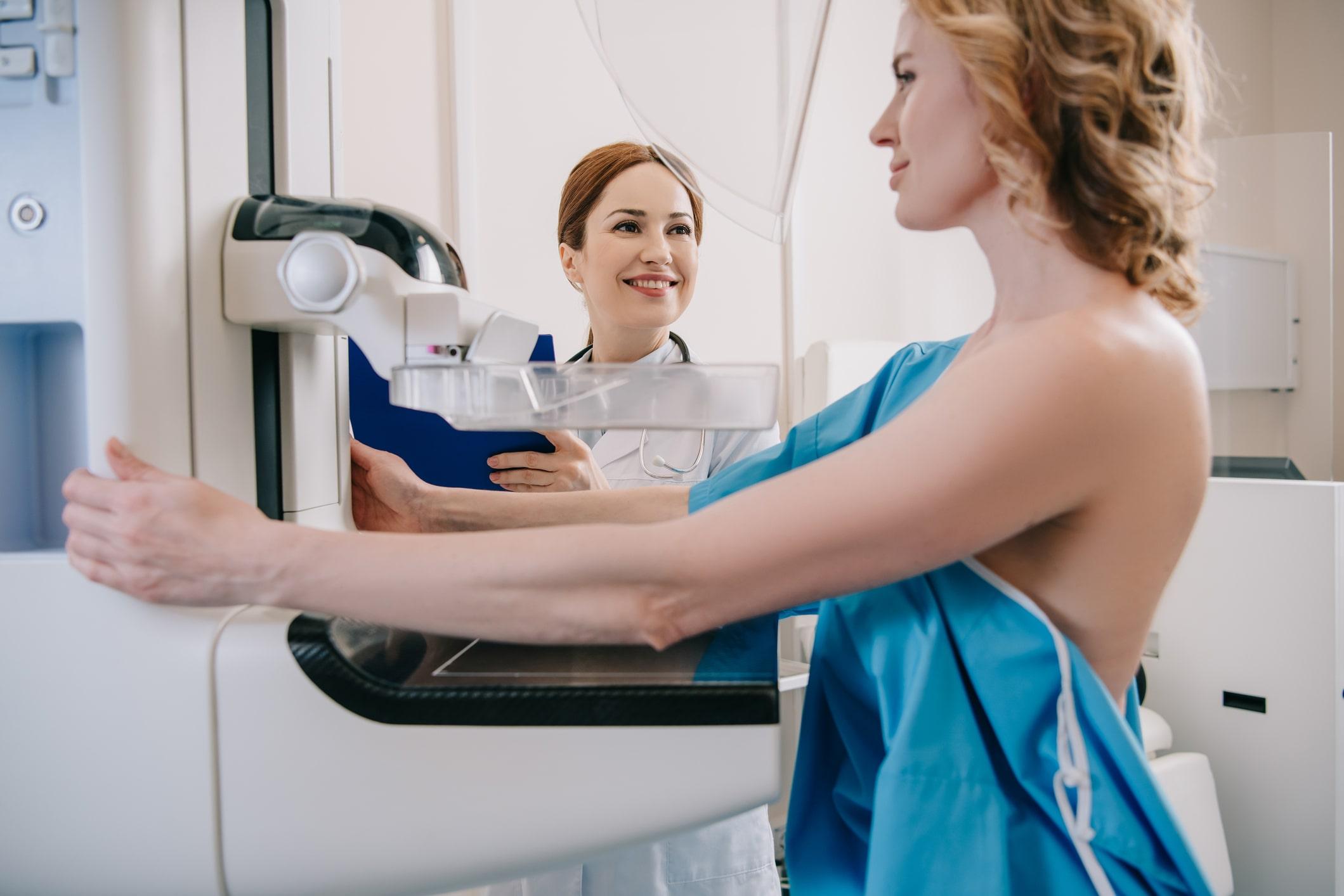 mammogram procedure