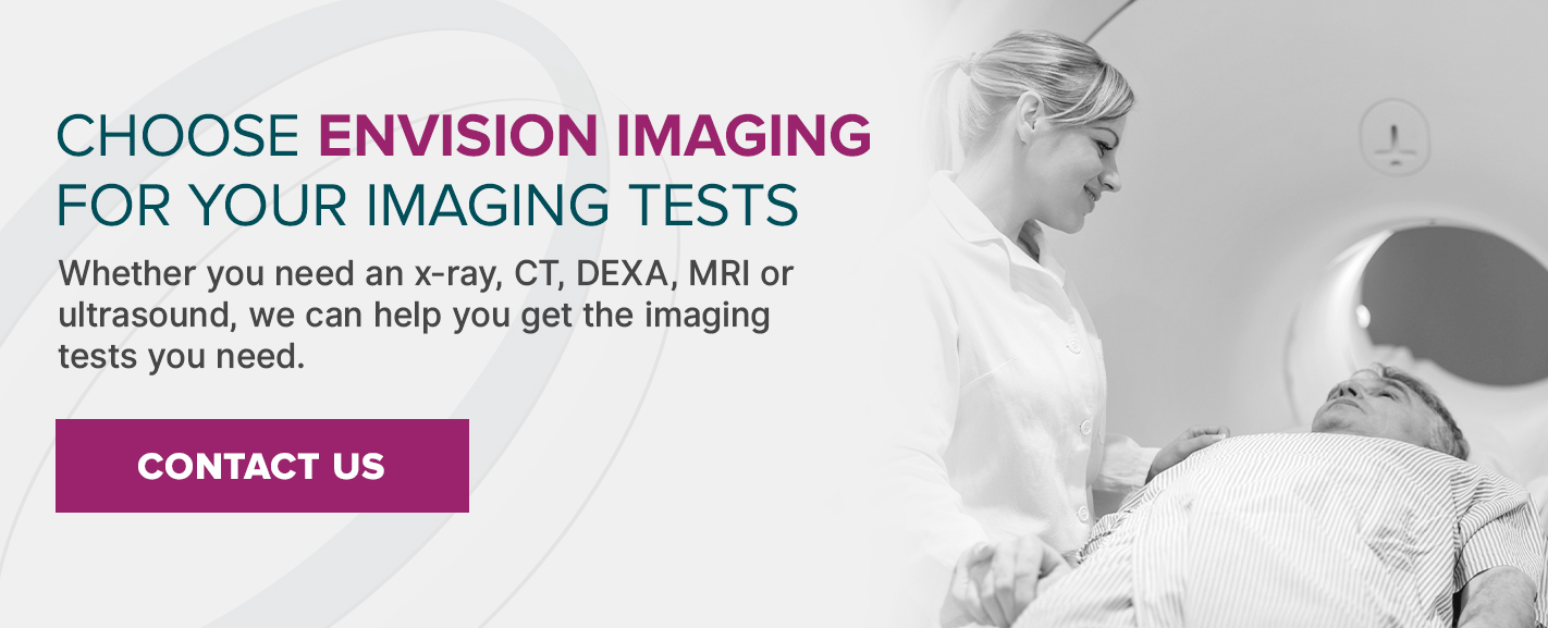 Schedule an Imaging Appointment at Envision Imaging Today
