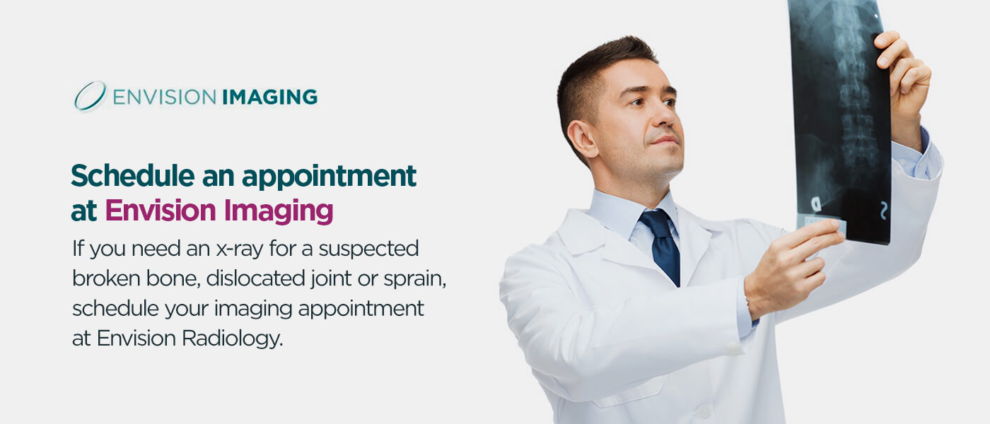 schedule an appointment at envision imaging